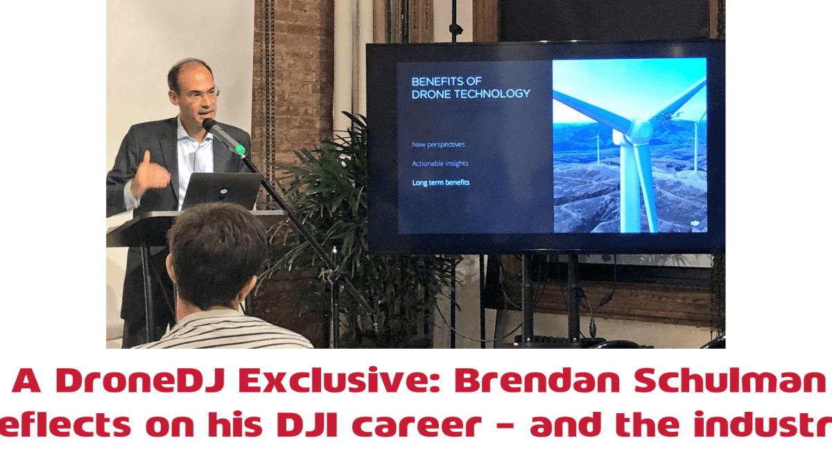 Brendan Schulman DJI DroneDJ exclusive