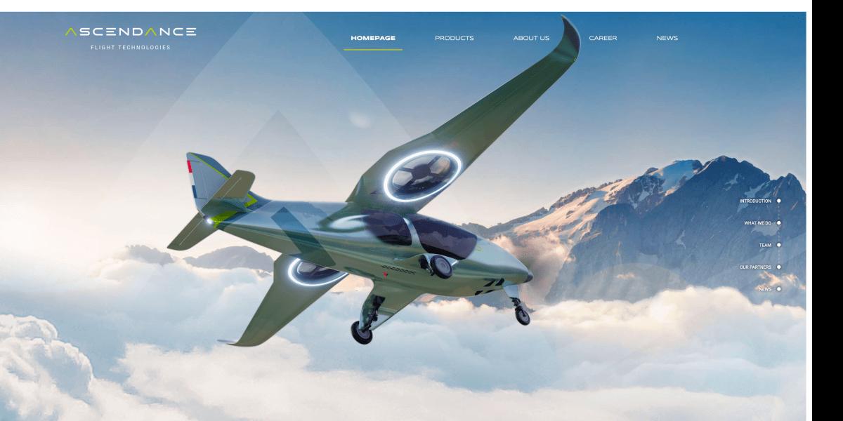 hybrid power VTOL plane