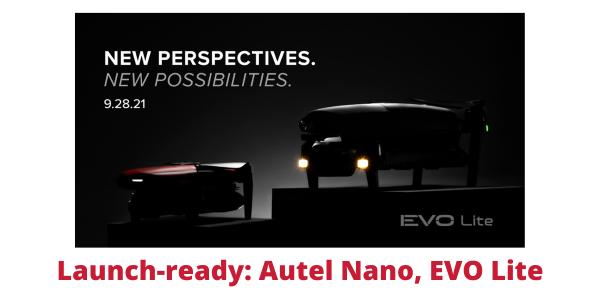 autel new drones launch nano evo lite