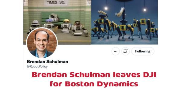 Brendan Schulman leaves DJI