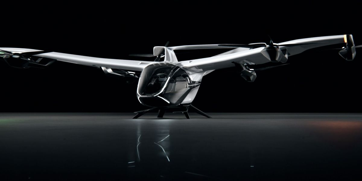 fixed-wing eVTOL air taxi