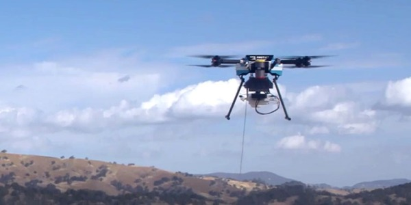 drone extreme weather phone