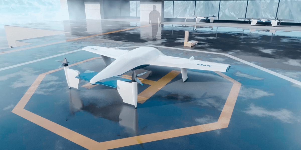 autonomous eVTOL delivery drone