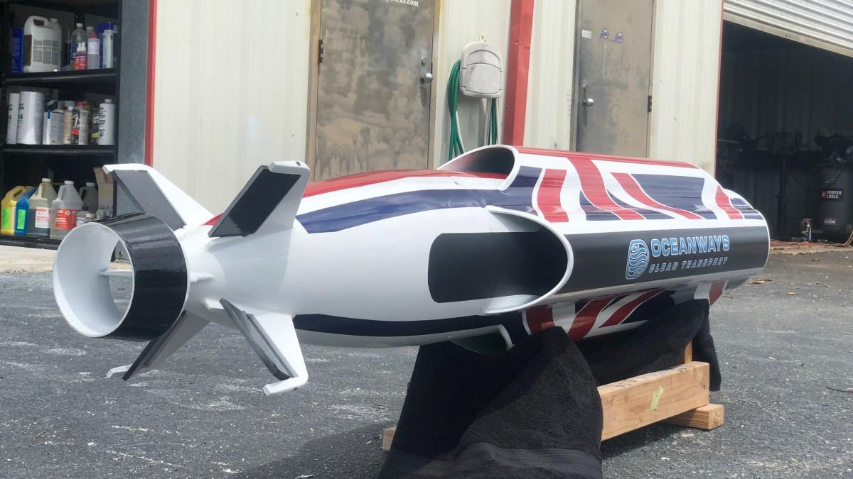 hydrogen autonomous cargo sub