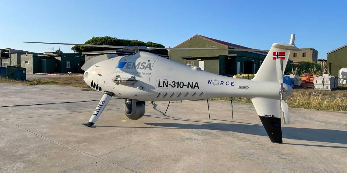 drone sulfur emission violation