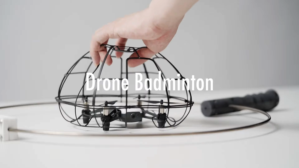 DJI Tello drone helps visually impaired people to play badminton [Video]