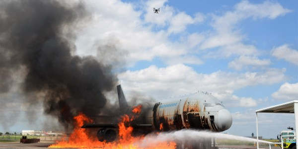 drones aircraft accident