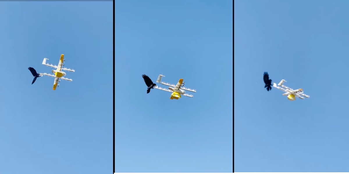 drone deliveries raven attack
