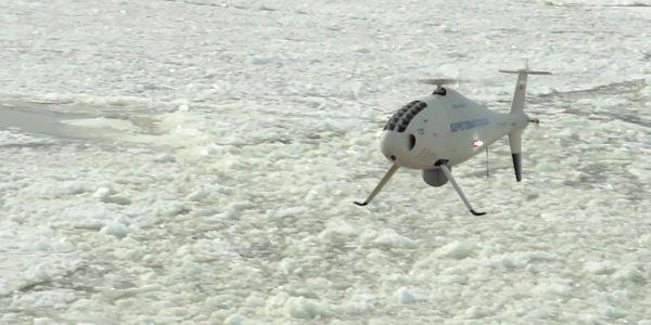 drone coast guard search rescue