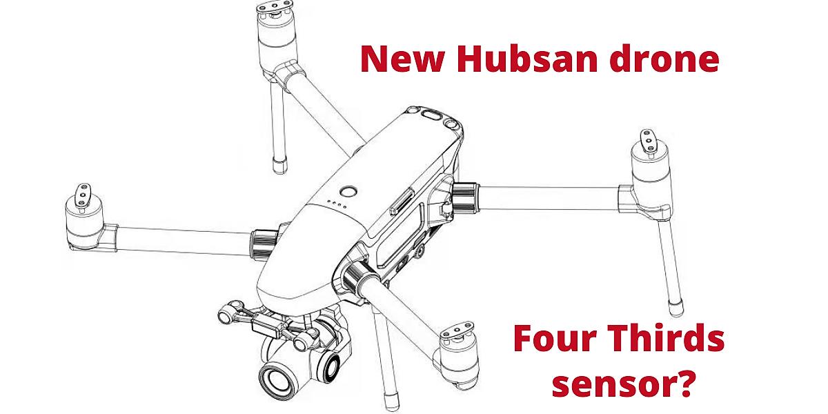hubsan new drone four thirds sensor