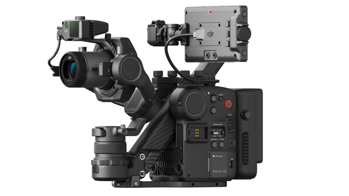 Ronin 4D camera DJI