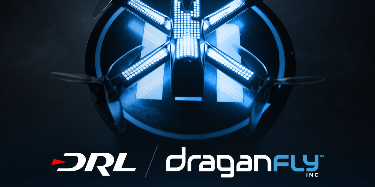 drone racing league draganfly