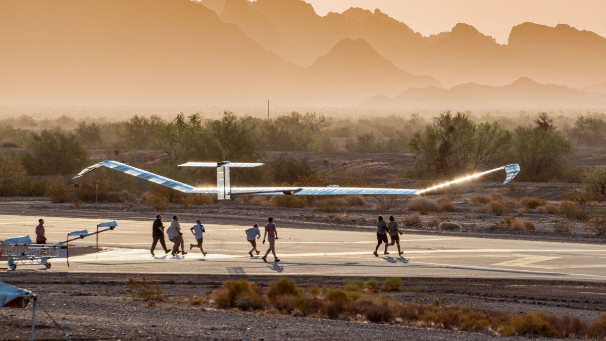 solar-powered HAPS drone