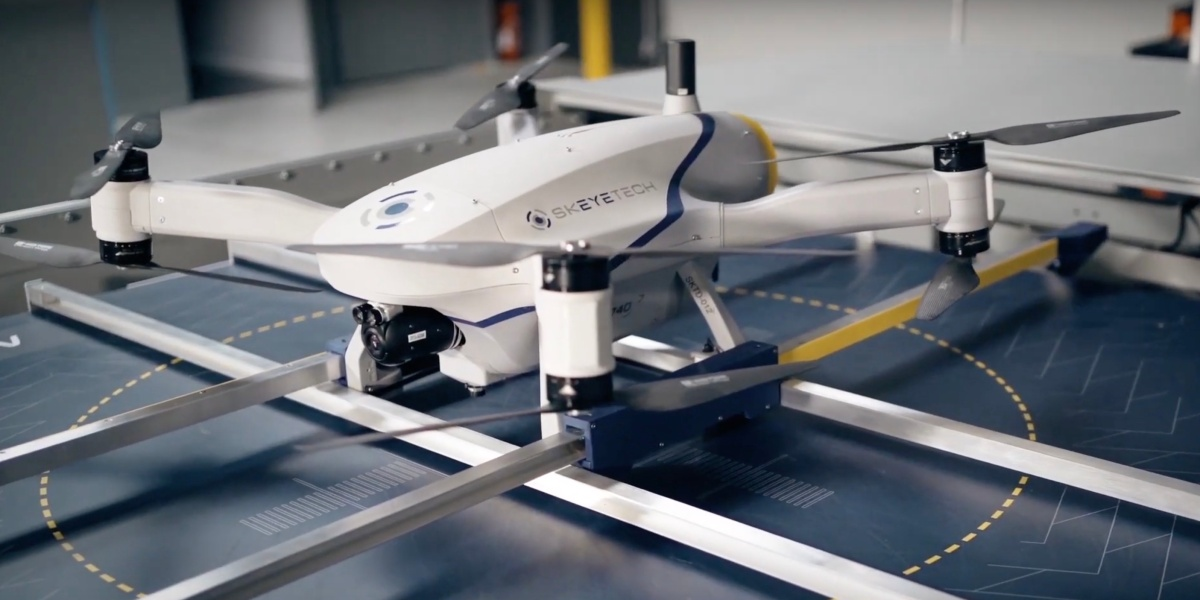 Azur Drones automated radiation detection