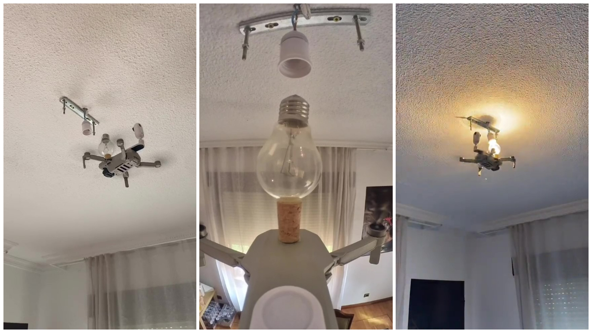 drone lightbulb bulb