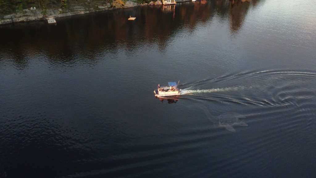 drone video of Nessie is fake.