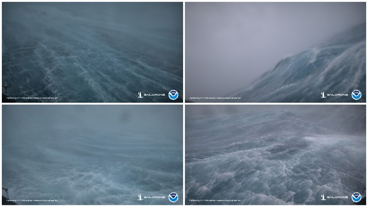drone video hurricane