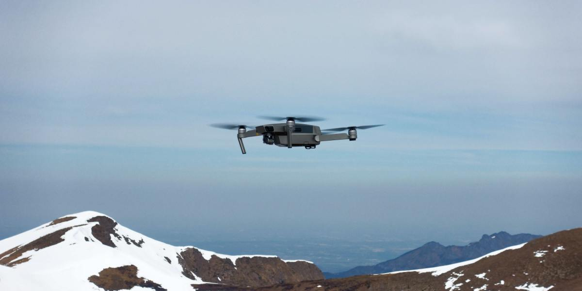 Drone glaciers
