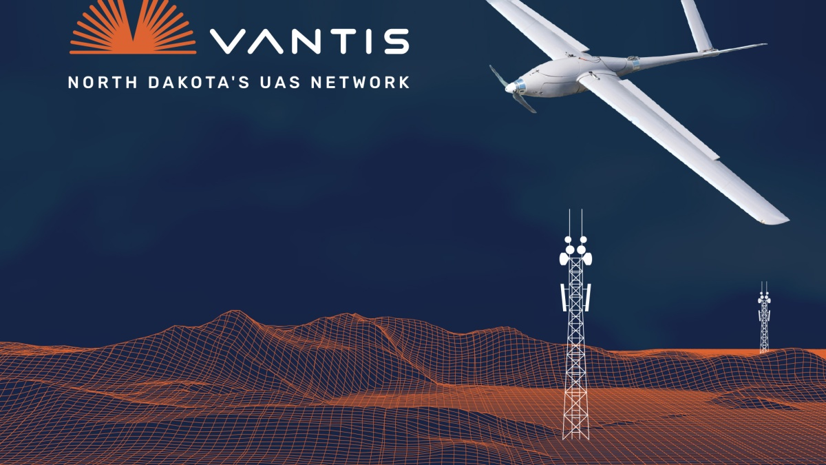 Vantis BVLOS drone network
