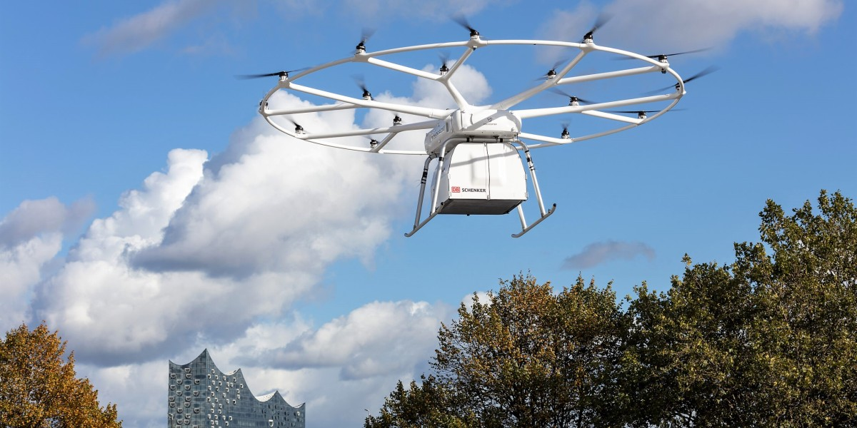 volocopter volodrone drone